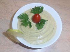 Vegan μαγιονέζα από avocado Hummus, Avocado, Pudding, Vegan, Ethnic Recipes, Desserts, Food, Flowers, Tailgate Desserts