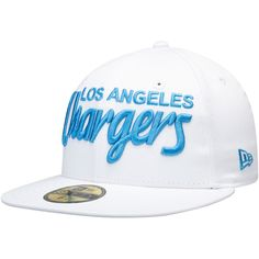 separation shoes e8435 18abd Men s Los Angeles Chargers New Era White Omaha Wordmark 59FIFTY Fitted Hat,  Your Price   34.99
