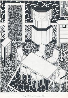 George J. Sowden, interior design, 1983