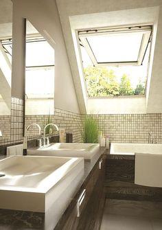 łazienka na poddaszu - Szukaj w Google