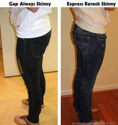 A great post about finding the right jeans to flatter your body. The same woman trying on 30 pairs of jeans on the same day to show the difference! Amazing! And funny!
