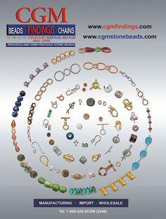 CGM Catalog Wholesale   Jewelry  www.cgmfindings.com