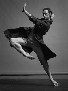 Ukrainian ballet dancer Sergei Polunin is photographed by Jacob Sutton and styled by Jean Michel Clerc for Numéro Homme magazine.