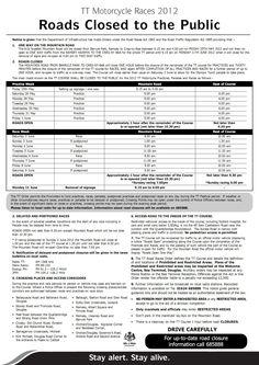 TT 2012  Information