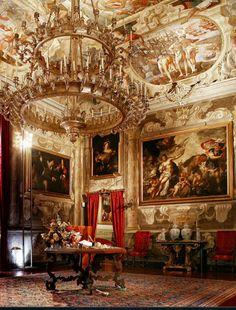 Baroque Architecture, Amazing Architecture, Interior Architecture, Interior Design, The Beautiful Country, Beautiful Space, Monuments, Palace Interior, Italian Villa