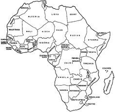 Map of africa without names african countries by name african outline map of africa with country names world map coloring page with countries black and white outline map of africa with country names world map with map gumiabroncs Gallery
