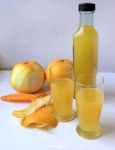 Liquore all'arancia fatto in casa | Ricetta