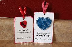 "DIY ""You're A Maze ing!"" Valentine Card"