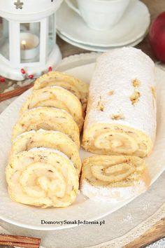 Raspberry Cheesecake, Polish Recipes, Apple Cake, Hot Dog Buns, Sausage, Rolls, Bread, Baking, Ethnic Recipes