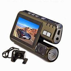 Double caméra voiture FULL HD - caméra de recul et télécommande Re-310