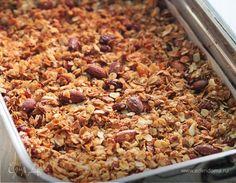 Гранола — домашние мюсли   Кулинарный сайт Юлии Высоцкой: рецепты с фото