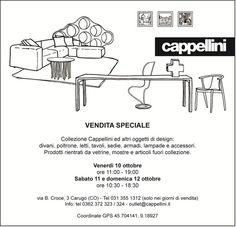 Vendita Cappellini, ottobre 2014