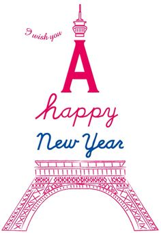 I wish you a Happy New Year!