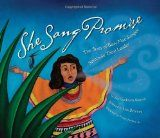 "SHE SANG PROMISE: The Story of Betty Mae Jumper, Seminole Tribal Leader by Jan Godown Annino. ""Beautiful in story, illustration, and spirit. Readers are in for a treat."" Click the link to read our full review on the Reading Tub. #kidlit #poetry"