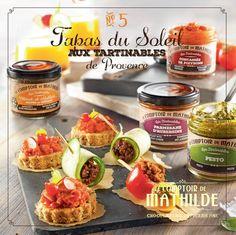 Découvrez des idées originales pour déguster vos Tapenades, Olivades et sauces...
