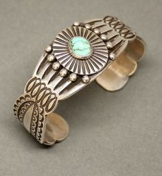 McKee Platero Bracelet with Turquoise
