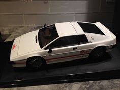 1/18 AUTOART LOTUS ESPRIT TURBO WHITE 007 JAMES BOND MOVIE CARE MINT MEGA RARE** #AUTOart #Lotus