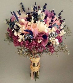 Bouquet - Care - Skin care , beauty ideas and skin care tips Fresh Flowers, Dried Flowers, Beautiful Flowers, Cheap Wedding Flowers, Flower Bouquet Wedding, Flower Bouquets, Gypsophila Bouquet, Hydrangea Bouquet, Pink Hydrangea