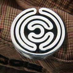 #medál #ezüstékszer #egyediékszer #egyediajándék #masterpiece #pendant #labirinth #infinity  www.matheekszer.hu Photos, Instagram, Pictures