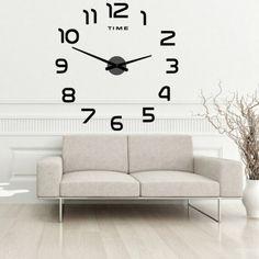 Kolor zegary do Twojego wnętrza. Zegar wykonany jest z wysokiej jakości włoskiego splotu szklanego, który ma nowoczesny i estetyczny wygląd i jest 6 razy mocniejszy od zwykłego szkła. Zegary ścienne są wyposażone w wysokiej jakości uchwyt AA AA w baterii AA, który zapewnia cichą pracę. Osłona maszyny wykonana jest ze szkła plexi, a wskazówki zegara wykonane są z litej stali. Instalacja jest bardzo prosta. Pozostałe elementy w postaci figurek wystarczają do przyklejenia się do ściany… Clock, Wall, Home Decor, Palette, Watch, Homemade Home Decor, Clocks, Interior Design, Home Interiors