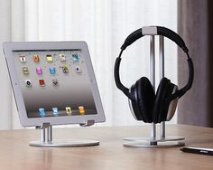 Just Mobile HeadStand for headphones & UpStand for iPad!
