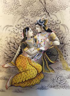 Picture-perfect art radha and krishna marble in a beautifully carved marble painting