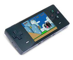 a320 Pocket Retro Game Emulator. Load NES, SNES, GBA, or Sega Genesis games.