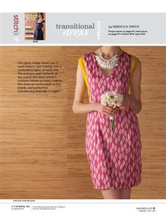 Pattern: Transitional Dress - Media - Sew Daily