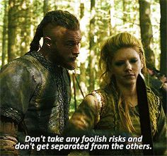 "Couples - Ragnar & Lagertha (Vikings) : ""Is that another way of saying you love me ?"""