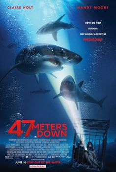 "From its poster, ""47 Meters Down"" looks like one of those Syfy flicks like ""Sharknado"" or ""Lavalantula"" which are enjoyable for being infinitely silly and having pathetic CGI effects. Or perhaps it…"