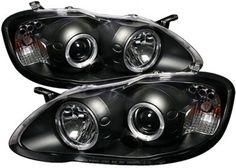 2003-2008 Toyota Corolla Headlight Spyder Toyota Headlight 5011787 03 04 05 06 07 08