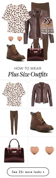 """""""Frugal Stylist"""" by dundiddit on Polyvore featuring WearAll, maurices, H&M, Dr. Martens, Ted Baker and plus"""