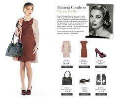 #PatriciaConde con el vestido sally (a/w 2012) para El Armario de la Tele -  #amarillolimon