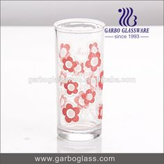 8oz Thin Wall Glass Cup With Printing For Promotion