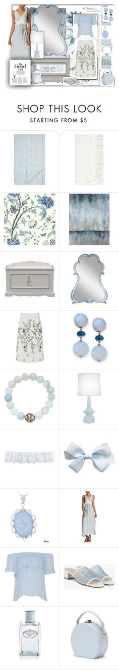 """""""Soft colors"""" by yvonne1406 ❤ liked on Polyvore featuring Alicia Adams, White Label, L'Objet, Leftbank Art, AFK, Goat, Suneera, Robert Abbey, Hanky Panky and Kabella Jewelry"""