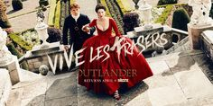 #ViveLesFrasers! Head to @EW to see the official trailer for #Outlander, returning April 9. http://starz.tv/S2EW
