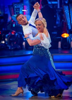 Week 3    Deborah & Robin Quickstep to Higher and Higher by Jackie Wilson   Scored  (7-7-7-7) =  28pts