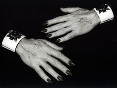 Verdura Cuffs on the Hands of Diana Vreeland, Diana Vreeland, Maltese Cross, Costume Institute, Harpers Bazaar, Style Icons, Nice Dresses, Rings For Men, Stylish, Photography