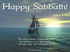 Happy Sabbath Images, Happy Sabbath Quotes, Sabbath Rest, Sabbath Day, Seventh Day Adventist Hymnal, Desert Places, The Lost Sheep, Church Flower Arrangements, Old And New Testament