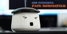 Travel mini USB face humidifier