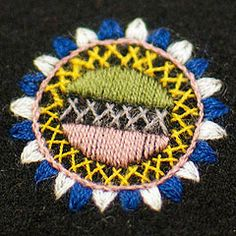 Traditional Finnish Wool Embroidery - Kansanomainen Lapuan naisen kansallispuku