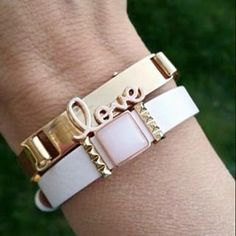 Keep collective personalized charm bracelets  https://www.keep-collective.com/with/tashaschneider