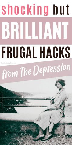 In this post I'll show you 14 frugal living tips from the Great Depression you must try, that are beyond brilliant, so you can master Frugal Living. Curious what it would be like to take your frugal lifestyle or how to be frugal to be the next level? The head over to the blog to read this post. Don't forget to save it to your board on ways to save money so you can easily refer to it later. Ways to save money frugal living | Ways to save money frugal living tips | Frugal tips