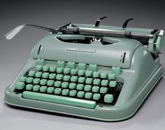 Jack Kerouac's typewriter  from traintocarolina