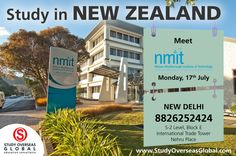 Meet the representatives of Nelson Marlborough Institute of Technology today at New Delhi.  Visit: http://studyoverseasglobal.com/ for details. #StudyOverseas #UniversityVisit