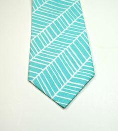 Aqua Neckties,  Blue and White Neckties, Mens Neckties, Necktie, Custom Neckties, Cotton Neckties, Wedding Neckties, Boys Neckties,. $26.00, via Etsy.