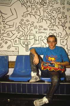 Keith Haring #Art #80s #Retro