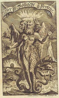 """Der """"Höllische"""" Proteus, Meergreis, hat Ähnlichkeiten mit Hermes, als Psychopompos, Selbstverwandler und Seher. Symbolisert die Wandlung und das Unbewusste."""