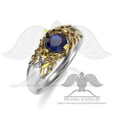 #Zelda  #fairy #geekgifts #goldring #weddingband #gift #silverring  #Free shipping @ Michaelmjewelry.com