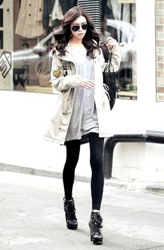 25 The Most Cutest Winter Outfits for Teen Girls - Pinmagz Winter Outfit For Teen Girls, Winter Outfits For School, Winter Outfits Women, Outfits For Teens, Casual Outfits, Fashion Outfits, Cute Coats, New Fashion Trends, Trending Outfits